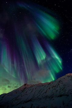The Aurora Borealis in northern Norway
