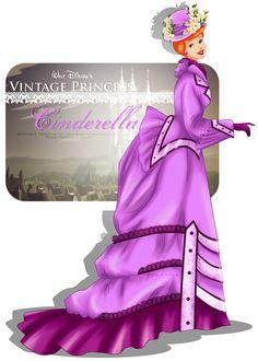 Vintage Princess - Cinderella by selinmarsou.deviantart.com on @deviantART