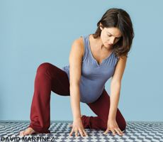 Tips, advice, and a prenatal yoga practice to help mothers through pregnancy and labor. Yoga For Infertility, Infertility Clinic, Infertility Treatment, Yoga Poses For Sciatica, Prenatal Yoga Poses, Yoga For Mental Health, Fertility Yoga, Woman Yoga, Different Types Of Yoga