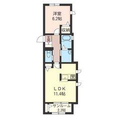 シャーメゾン|ラ・メゾン アキュータ105号室103000