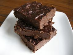 Black bean brownies. My vegetarian friend was actually just telling me earlier today how amazing these are!