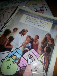 Chicken Scratch n Sniff: Behold Your Little Ones (Nursery), great ideas for each lesson