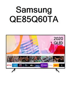Samsung QE85Q60TA Led Tvs, Bt Sport, Prime Video, Samsung, Sam Son