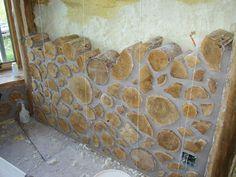 best cordwood home construction techniques - Google Search