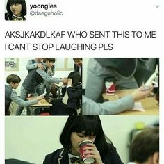 Omfg if Suga would be to ever see this picture i think he would throw up in his mouth just a little bit lmao