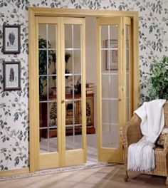 interior doors with beautiful display will make your House look more beautiful spaces. If you intend to use Bifold French Doors Interior is the right choice. Bifold French Doors, Internal French Doors, French Doors Patio, Double Doors, Patio Doors, Room Doors, Closet Doors, Entry Doors, Pantry Closet