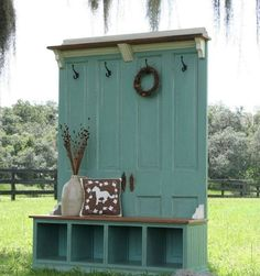 Repurposing is the best! With a little love and devotion, we can take a few old doors and turn them into an amazing Entryway Bench. These repurposing projects are a great combination of a bench, a few storage shelves and a coat hanger. Love it. It is a fun way to add some wow factor […]