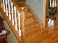 Flooring For Stairs, Cork Flooring, Solid Wood, Ideas, Home Decor, Interior Design, Home Interior Design, Hardwood, Home Decoration