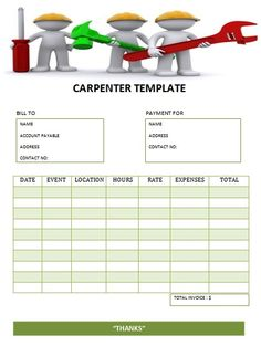 CARPENTER TEMPLATE-2