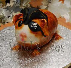 Wild Cakes -pirate guinea pig!