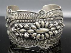 Darryl Becenti - Silver Cuff