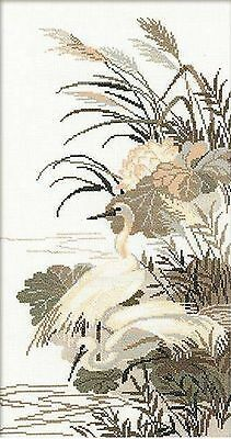 RIOLIS 928 Herons Embroidery counted