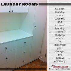 Surprise Mom With A Laundry Room Renovation For Motheru0027s Day. The Closet  Doctor: Closet Organizers Sacramento
