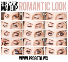 DIY Step by step makeup Makeup tips and ideas