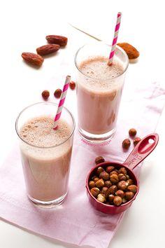 Leche de Avellanas y Cacao| danzadefogones.com #danzadefogones #vegano #vegana #singluten #receta