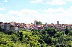 Schöner Tag noch!: Stadtpanorama Rothenburg
