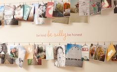 """10 Quick Witted DIY Home Decor Hacks You Can Do In a Weekend: """"Let it Hang"""""""