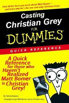 Matt Bomer!! Duh!! fifty shades of grey :)