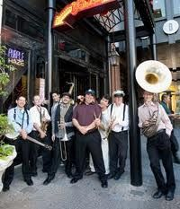 emperor norton's jazz band - First band to play Blue Note Rendezvous!