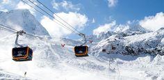 Die neue 3S Eisgratbahn von LEITNER ropeways am Stubaier Gletscher. ©Stubaier Gletscher