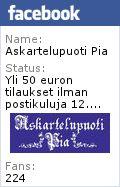 Askartelupuoti Pia Facebookissa