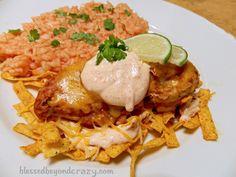 Applebee's Fiesta Lime Chicken- Copycat Recipe from blessedbeyondcrazy.com