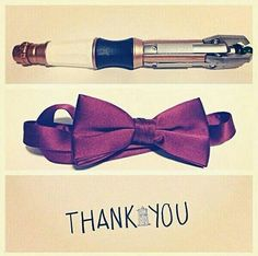 Thank you, Matt Smith, for being the my first doctor; The Doctor who made me fall in love with The Doctor.