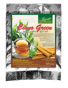 1 Sold! More Available!!Jeev Cinno Green[Cinnamomomum verum/Camellia Sinonsis]10 String & Tea Bags 20g #jeevherbal