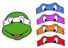 """Teenage Mutant Ninja Turtles """"Pin The Mask on the Turtle"""" Game - Printable Instant Download on Etsy, $3.99"""