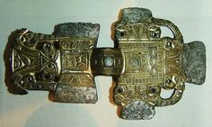 clasp-brooch from the anglo-saxon grave at Saxby