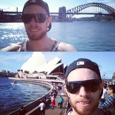 Great day out being all touristy in #Sydney hit up the Sydney Oprah House Sydney Harbour Bridge & had fish and chips on Bondi Beach.. #sydneyoperahouse #Bondi #beach #sydneyharbour #sydneyharbourbridge #fishnchips #tourist #sightseeing #selfie #travel #sunny by rave88 http://ift.tt/1NRMbNv