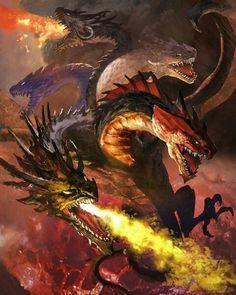 Os 5 espíritos draconianos - Dramor (terra) - Drame(fogo) - Drind(vento) Drunter(Trovão) - Draculario(água)