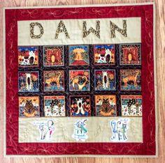 Advent Calendar, Quilts, Blanket, Holiday Decor, Home Decor, Decoration Home, Room Decor, Advent Calenders, Quilt Sets