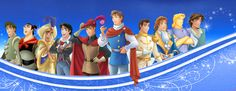 "Disney Princes.When I saw this the first thing I said was ""I better not see Hans in there!"""
