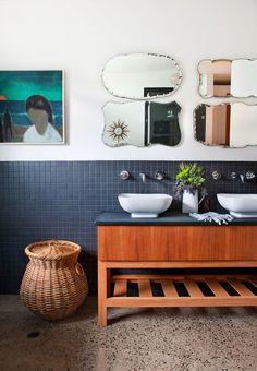 Interiors: Bathrooms   Mirror Clusters