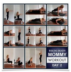 BIKINI BODY MOMMY CHALLENGE: WORKOUT DAY 2