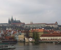 Cathedral and palace on top, Prague