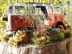 VW Camper 1/35 Scale Model Diorama