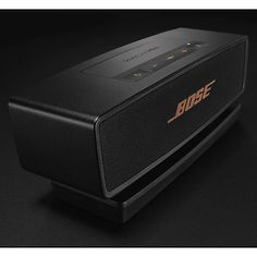 Buy Bose® SoundLink® Mini II Bluetooth Portable Speaker with Built-In Speakerphone, Black/Copper, Limited Edition Online at johnlewis.com