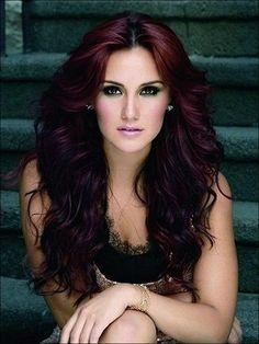 bold plum hair colors - Google Search