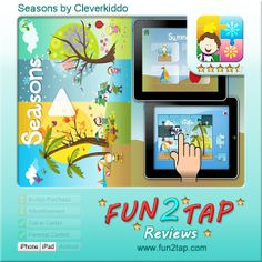 Kid Games, Fun Games For Kids, Parental Control, Ipad, Android, Seasons, Iphone, Learning, Style