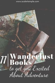 11 Wanderlust Books to get you Excited About Adventure – ScaleitSimple Are you looking for great wanderlust books that will fill you with the travel bug? In this post, you will find great books to get you into the travel spirit. Simple Living Blog, Simple Blog, Wanderlust Book, Beautiful Ruins, Find A Book, Under The Tuscan Sun, Best Blogs, Inspirational Books, Classic Books