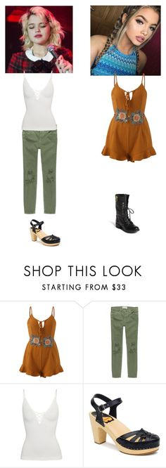 """""""OOTD Harlei Xavier and Elsa Larrson Brannon"""" by queen-p-bxtch on Polyvore featuring Free People, Swedish Hasbeens and Steve Madden"""