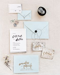 I love the strokes and texture of this stationery suite designed & scripted by #scriptmerchant