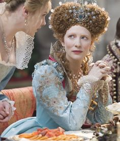 Elizabeth's Pale Blue Gown (Elizabeth: The Golden Age, 2007).