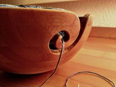 make your own yarn bowl