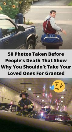 50 Photos Taken Before People's Death That Show Why You Shouldn't Take Your Loved Ones For Granted Funny Tinder Profiles, Funny Jokes, Hilarious, You Say Goodbye, New Board, Bad Dreams, Trending Today, Double Take, Funny Pins
