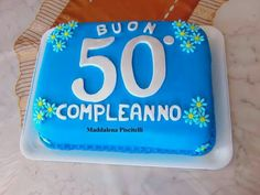 Torta 50° compleanno