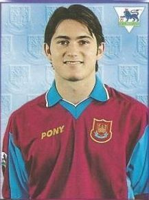 Frank Lampard of West Ham in 1999.