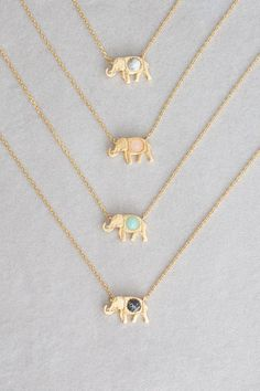 Lovoda - Elephant Stone Necklace, $20.00 (http://www.lovoda.com/elephant-stone-necklace/)